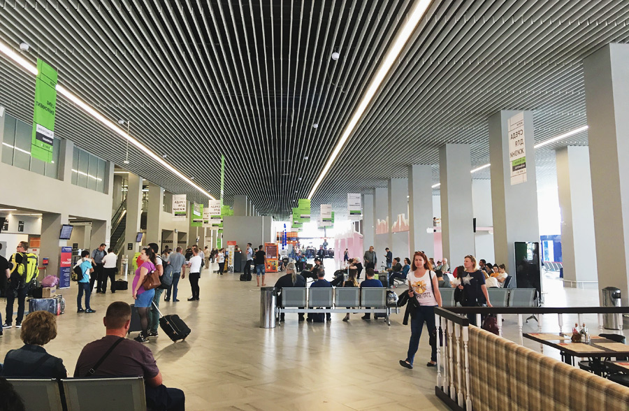 Калининградский аэропорт описание и фото