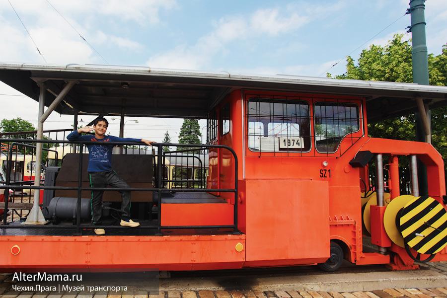 Как добраться в музей транспорта в Праге