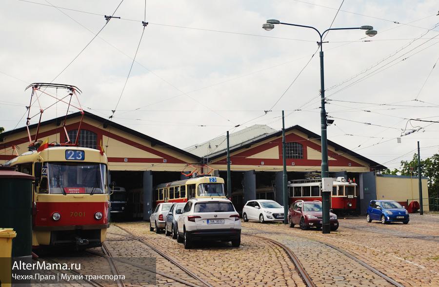 Как доехать в музей общественного транспорта Прага