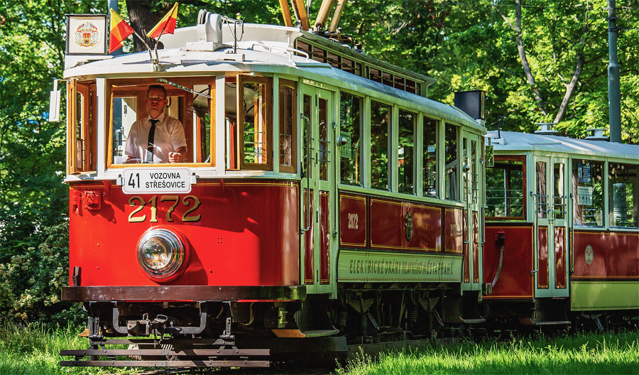 Прага исторический трамвай маршрут