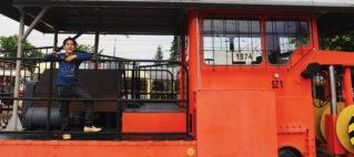 Прага музей транспорта и старинных трамваев